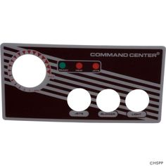 Overlay, Tecmark Command Center, 3 Button