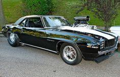 1969 Pro Street Chevrolet Camaro