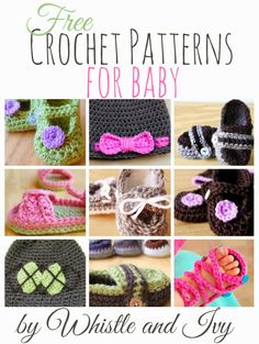 This post makes me really, really, wish I knew how to crochet!! The fabulous Whistle and Ivy is beyond talented when it comes to crocheting and I thought it would be fun to feature all of her gorgeous baby patterns. She has you covered if you are looking to create baby items for a girl …