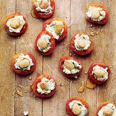 apricots-basil-goat-cheese