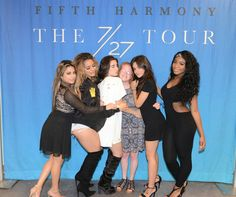 My meet and greet picture with fifth harmony from march 2 im cryinf fifth harmony mg for 727tour m4hsunfo