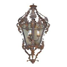 Spanish Wrought Iron Lantern