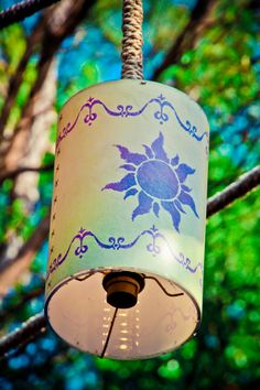"Lanterns from ""Tangled."""