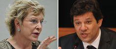 Noticias ao Minuto - Marta e Haddad são perguntados sobre corrupção no PMDB e PT