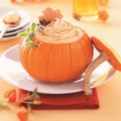 Pumpkin Mousse Recipe from Taste of Home