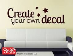 Custom Wall Decals Create Your Own Quote Custom By Luxeloft Home - Create custom vinyl decals