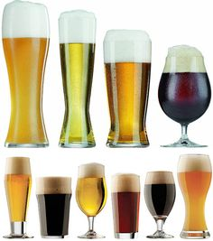 For our fellow craft beer lovers: The Definitive Guide To Beer Glasses http://digg.com/2014/beer-glass-guide-kinds?utm_content=bufferf0987&utm_medium=social&utm_source=pinterest.com&utm_campaign=buffer