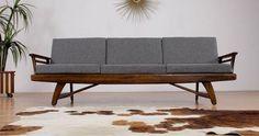 Loving this #modern #MCM #sofa spotted on Chairish! See all my faves here: https://www.chairish.com/shop/designmilk/favorite/list #HOMEgirls