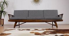 Loving this #modern #MCM #sofa spotted on Chairish! See all my faves here: https://www.chairish.com/shop/designmilk/favorite/list #HOMEgirls