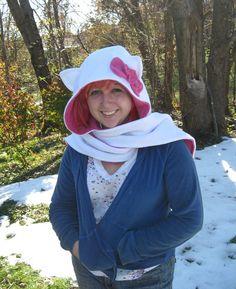 Fleece Schoodie Hello Kitty Winter Scoodie by EldritchArts, $60.00