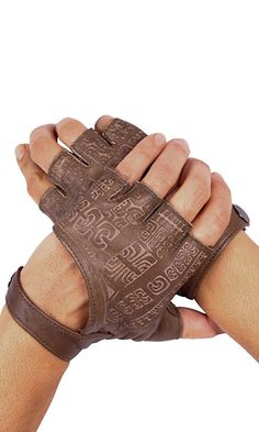 Leather Fingerless Gloves Fingerless Gloves by eleven44jewelry