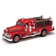 Ford Fire Engine 1938 ford bomberos 1:24 yat ming