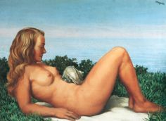René Magritte - Olympia