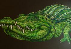 Crocodile by Jo Warren