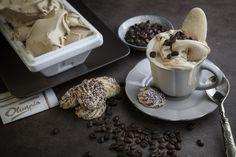 Gelato al caffè.  Pasticceria Olimpia.