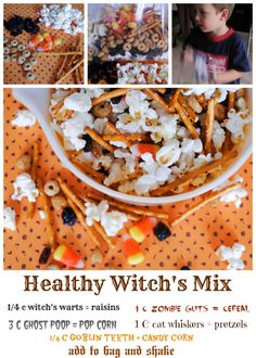 Healthy Halloween Witch's Mix