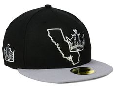 States Los Angeles Kings 59FIfty Fitted Cap by NEW ERA x NHL