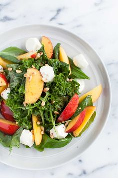This bright and light kale and nectarine salad is just perfect for Spring! Well… in New Jersey we have officially hit summer with a high of 88 degrees today. In fact, we skipped over Spring altogether! It went from Winter, ...