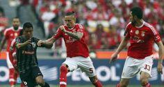 Fejsa e Jardel no Benfica -1 / V. Guimarães - 0 (29 de abril de 2016).