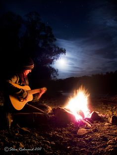 Campfire Song by Red-mond, via Flickr
