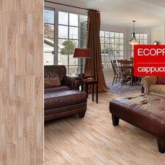 Пробковые полы Corkstyle EcoPrint Wood Cappuccino 10мм