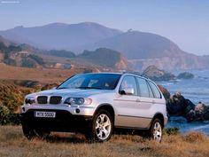 E53 BMW X5 4.4i in Titanium Silber
