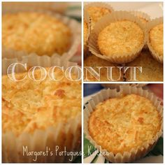 Coconut Tarts/Queijadas de Coco – Decor and Dine Coconut Tart, Coconut Desserts, Coconut Cupcakes, Coconut Recipes, Tart Recipes, Sweet Recipes, Dessert Recipes, Cooking Recipes, Strawberry Desserts