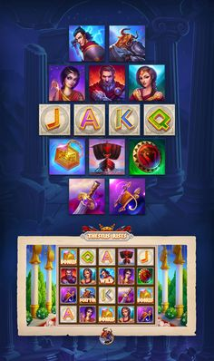 1x2Gaming | Slots on Behance Game Icon Design, Game Gui, Adobe Photoshop, Adobe Illustrator, Slot, Behance, Graphic Design, Games, Creative