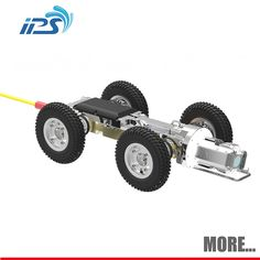 Sewer Crawler Pipe Inspection Robot Camera For Storm Drain