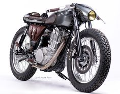 The Snipe. A Brand New Yamaha SR400 With Timeless Appeal