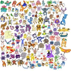 The ORIGINAL Pokemon