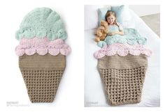Have you tried Crochet Snuggle Sacks? This Crochet Double Scoop Snuggle Sack Free Pattern is one of my favorites. It is way too cute.