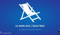 Le week-end… #french