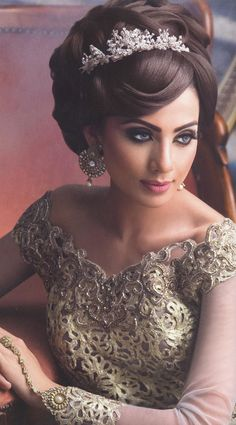 Awesome Bridal Hair Pictures Iranian Wedding And Bridal Hair On Pinterest Hairstyle Inspiration Daily Dogsangcom
