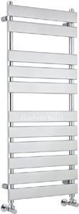 Hudson Reed Radiators Heated towel rail in chrome.Suitable for connection to a hot water cen Bathroom and Kitchen goods for the UK. Bathroom Radiators, Hudson Reed, Heated Towel Rail, Cool Kitchens, Blinds, Chrome, Curtains, Shower, Home Decor
