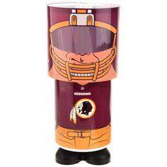 Washington Redskins Lamp Desk Style