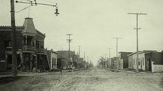 Montréal, vers 1907. La rue Saint-Hubert.