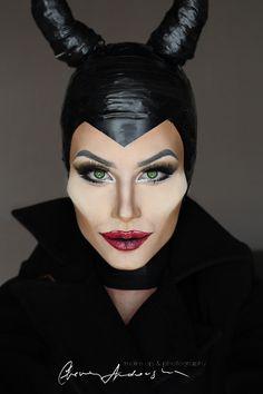 My first make up transformation into MALEFICENT characterMAKE UP& PHOTOGRAPHY BY: Elena AndovskaMODEL: Elena ANdovska