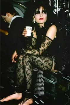 Siouxsie Sioux, of course. =P