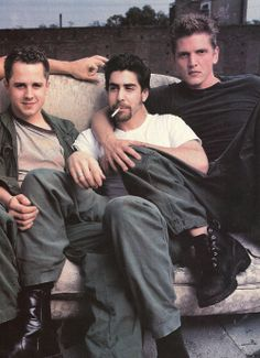 Barry Pepper , Adam Goldberg and Giovanni Ribisi ... stars in Saving Private Ryan