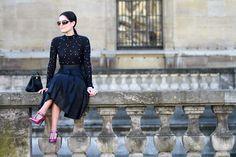 Street style Paris SS15 BY ALDO DECANIZ #PFW