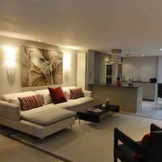 Private residential apartment, living room