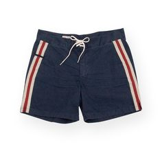 The Waxer swim trunks (Indigo) - by M. Nii