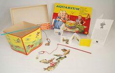 Aquarium; visjes vangen met een magneetje. Wie kent het niet?