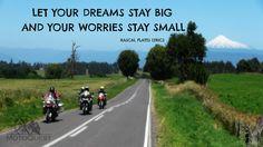 Dream big! www.motoquest.com