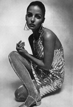 Donna Mitchell by David Montgomery, 1966.