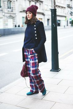 The Fashion Through My Eyes / Tartan pants //  #Fashion, #FashionBlog, #FashionBlogger, #Ootd, #OutfitOfTheDay, #Style