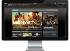 Valve has created the amazingly successful online game store, Steam, which has and is expanding its library of games and the different systems which can access it Kirkland Washington, Windows Programs, Max Payne, Video Game Companies, Video Game Development, Computer Service, Business Software, New Community, Online Games