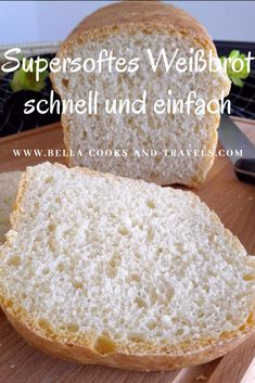 Rezept für supersoftes, leckeres Weißbrot aus dem Kasten This quick, fluffy white bread can also be baked with overnight cooking. Definitely try it out! Oven Baked French Toast, Baked French Toast Casserole, French Toast Bake, Gourmet Breakfast, Breakfast Recipes, Pancake Healthy, Bread Toast, Easy Baking Recipes, Bread Recipes