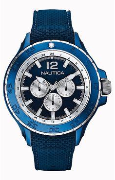 NST Aluminum Watch $185.00 #Nautica